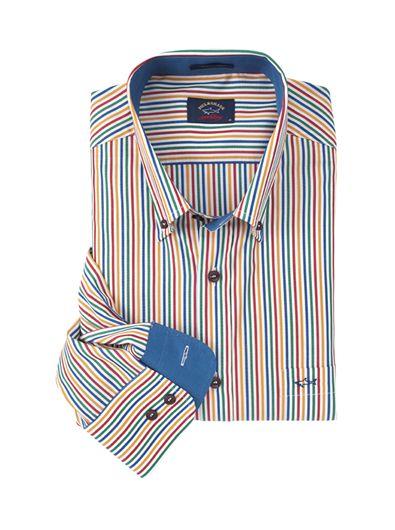 1f3d769f Multicolor Stripe Sport Shirt By Paul & Shark