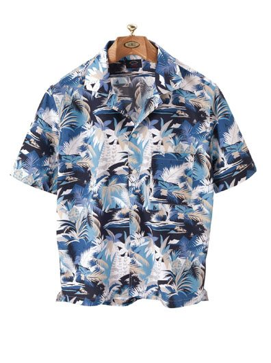 75a0ffa3 Tropical Print Short-Sleeve Sport Shirt by Paul & Shark